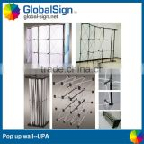 Shanghai GlobalSign stable and durable hook and loop pop up banner                                                                         Quality Choice