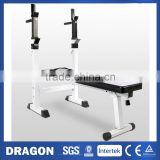 Fold-Up Weight Bench Heavy Duty Shoulder Folding Home Heavy Duty Multiuse Barbell Flat Exercise Gym Olympic Curl Barbel