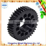 changzhou machinery Differential Spur gear Parts/ Steel Small Pinion tactical gear reduction gear grinding wheel