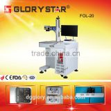Metals/Plastic/Rubber/Wood/ABS/PVC/PES/Steel/Copper desktop fiber laser marking/laser engraver machine
