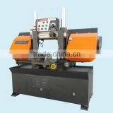 GZ4232 Double Column Hydraulic Metal Cutting Saw Machine Bandsaws Cut Iron Steel Copper Tube
