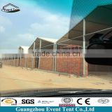 20x30m temporary large span aluminum structure warehouse/workshop/building/hanger factory