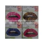 Fashion Design Safe and non-toxic Temporary Lip Tattoo stickers                                                                         Quality Choice