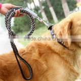 manufacturer supply high quality leather pet leash lead big dog