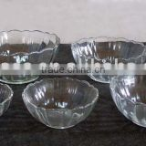 Bowl,Glass Bowl,Crystal Bowl,Soup Bowl,Lotus Flower Bowl,Salad Bowl,Dinner Ware (HF32010)