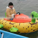 inflatable animal rider bumper boat for kids