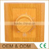 China manufacture yellow wood fan rotaty various speed timing switch, rotarey switch, switch rotary