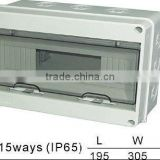 HT-15ways Distribution Box(Electrical Distribution Box,Plastic Enclosure)