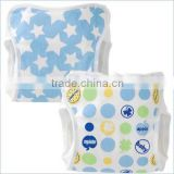 made in japan products high quality new design baby diaper cute polka dot and star pattern cloth diaper cover for boys