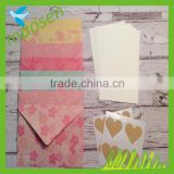Yi wu manufacturer handmade cheap envelopes for wedding invitations wholesale                                                                                                         Supplier's Choice