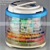 700W Electric Food Dehydrator With Dia Timer and Temperature Control With 12 Removable Trays FD-600B