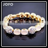 Hot Sale Fashion Jewelry OL Temperament Charm Bracelet For Women High Quality Opals Crystal Bracelets