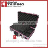 Black Locking Gun Case Security Case Box Aluminum Gun Case with Foam                                                                         Quality Choice