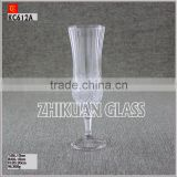 China supplies glass cup with stainless steel handle from alibaba Glass Cup Manufacturer with a reasonable price