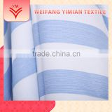 Made In China Stripe Polyester Cotton Printed Muslin Fabric Baby