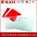 custom logo greeting card envelope, delicate design greeting card envelope manufacturer alibaba supplier