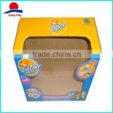 Hot Sale Paper Box With PVC Window For Toy                                                                         Quality Choice