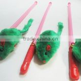 Dangler Mouse Cat Toys with Plastic Pole