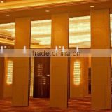aluminium movable partition wall and folding wooden partition acoustic movable partition for banquet hall