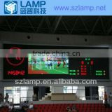 P10 indoor full color LED display screen for sports