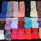soft ruffle lace baby leg warmers leggings