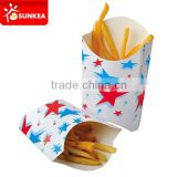 Star design french fries paper scoop
