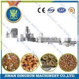 Hot selling China factory different shaper different output Small dog food making machine