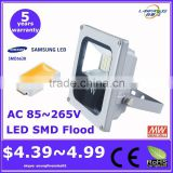 cheap price epistar chip 5 years warranty IP66 outdoor waterproof high power work led flood light