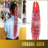 Wholesale Price Rosette 22inch Long Ponytail Hair Extension Synthetic Hair Claw Clip In Hairpieces