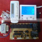 backlight type household air conditioner control panels with LCD air conditioning controller PCB