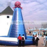 commercial use inflatable water rock climbing wall