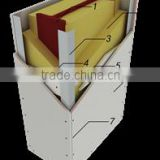 Fire Protection Calcium Silicate Board For Smoke Extract Ducts | Cable Protection Ducts | Service Ducts