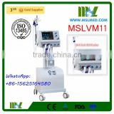MSLVM11-4 10.4 Inch Highlight LCD Screen Trolley Ventilator/Medical Ventilator System Price