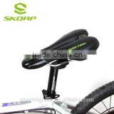 New Top Quality Black Shockproof Comfortable Bike Seat Saddle Silica Gel Seat