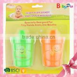 Babypro 2015 Hot Sale High Quanlity Baby Product Baby Bottle Cartoon Cheap Baby Cup Baby Training Cup Baby Cup Set