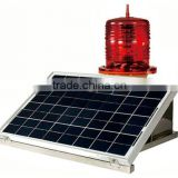 Solar Powered Aviation Obstruction LED Light
