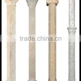 Wedding Decoration Fiberglass Resin White Roman Hollow Column Pillar