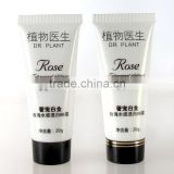 Pearl white color tube for BB cream