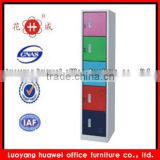 Vertical safe colorful steel kd five door office employee locker for office