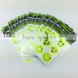 Promotion gifts set for sports custom vinyl stickers glow in the dark pvc sheet custom stickers