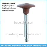 Ar105M Brown RA Shank Low Speed Wheel Silicone Rubber Prophylaxis Polisher For Polishing Ceramic Dental Hygiene Clinic