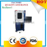 Distributor Wanted 10w 30w 60w cloth/ jeans/ plastic /cable Co2 laser marking machine with CE FDA