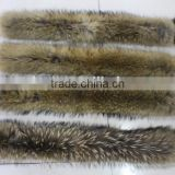 Fur Collar, Real Raccoon Fur/Raccoon Fur Collar Coat