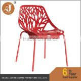 Red Black White Green Fancier Studio Birch Sapling Plastic Accent Dining Chairs