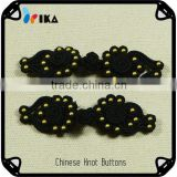 fancy black chinese knot button for Ancient costume
