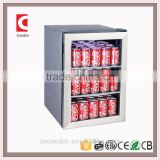 Candor: 62L Compressor Mini bar Beverage Cooler / Display fridge / hotel mini fridge / Beer Cooler JC-62