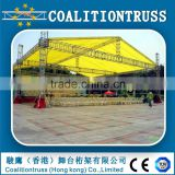 High technology aluminium stage dj truss, on sale aluminum lighting truss