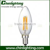 e14 base c35 led bulb filament high cri c35 led filament candles lamps c32 4w c35 filament lamp patent