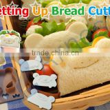 bread cutters toaster baby accessories decoration tool food slicer kitchenware getting up bread cutter stamps bear frog panda