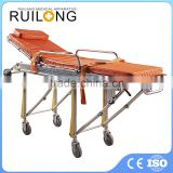 Hospital Patient Ambulance Foldable Steel Leg Stretcher